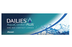 Daily contact lens dailies aqua comfort plus with 30 lens on sale